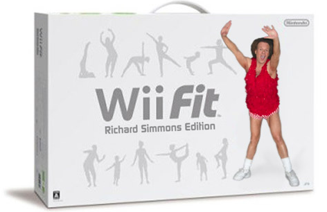 Wii Fit Richard Simmons Edition
