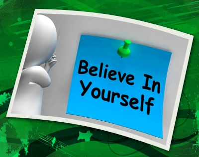 Believing in yourself whilst you write your CV will show in your writing.