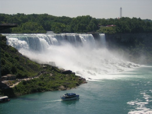 Maid of the mist boat tour, Niagara falls