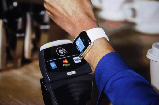 NFC is powering the mobile wallet battle (ie ApplePay, Google Wallet, and Softcard).