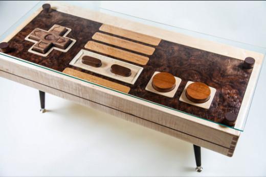 Nintendo Entertainment System Coffee Table