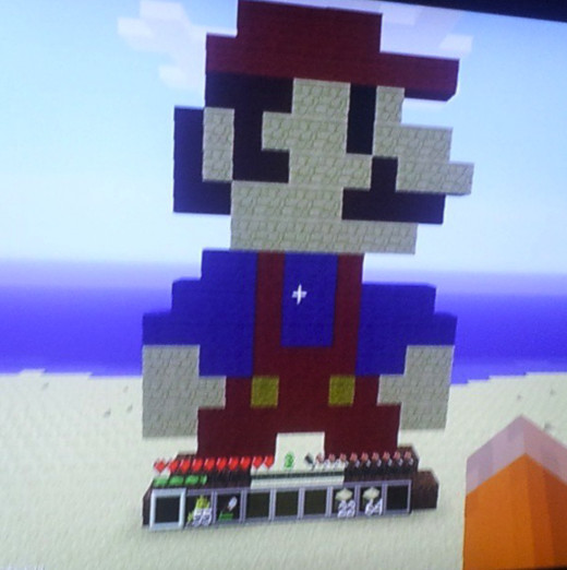 My Husband's 8 Bit Mario