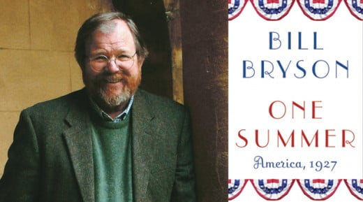 Bill Bryson promoting his book, 'One Summer...'