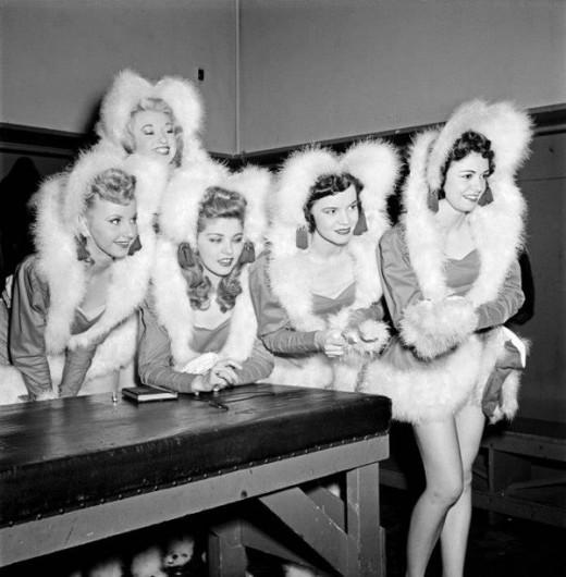 Rockettes in 1950