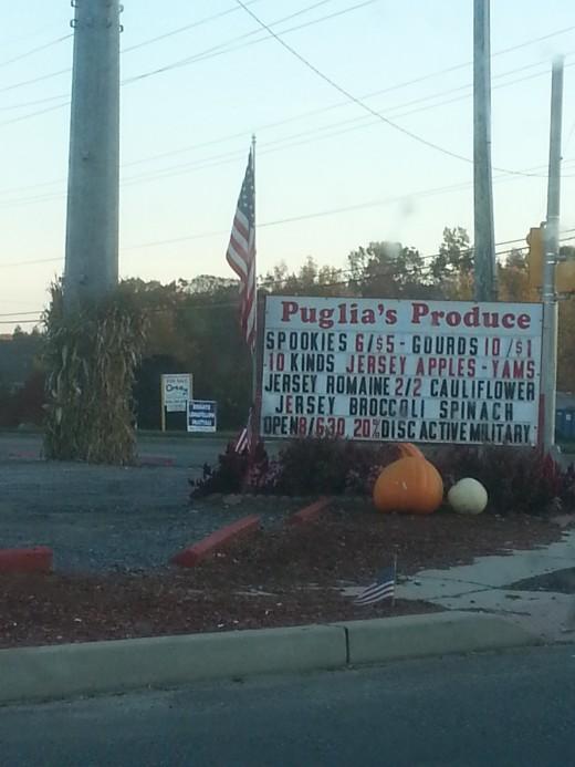 Puglia's Produce