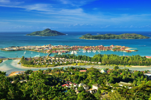 This gorgeous city encapsulates the romantic and tropical atmosphere of the Seychelles.