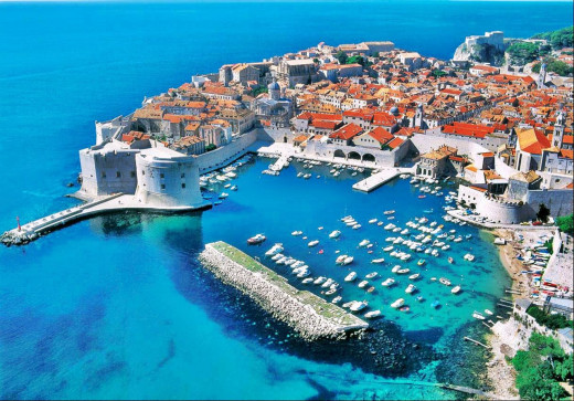The walled city of Dubrovnik, offers plenty of opportunities for romance.