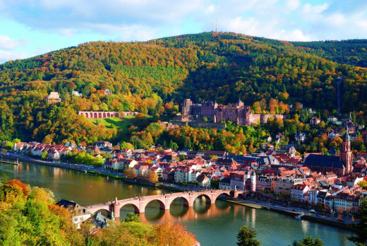 Like a page straight out of a storybook, tis Heidelberg.