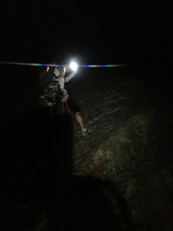 Night Crawling - Night Rock Climbing