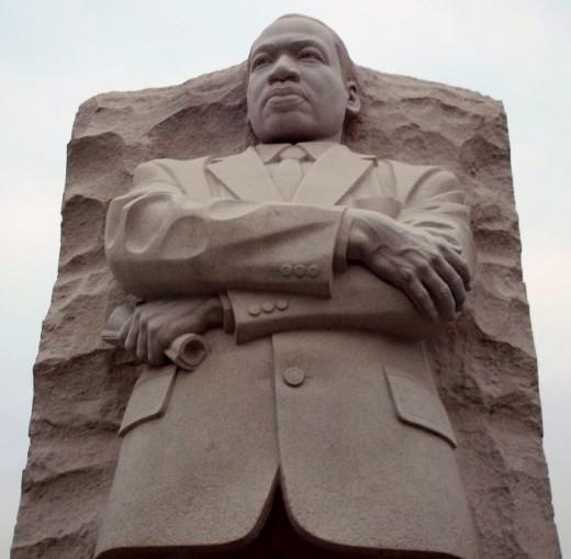 The MLK Memorial.