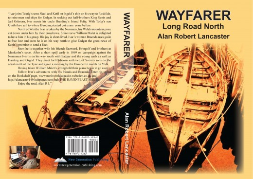 The WAYFARER cover -  ISBN  978-1-78507-123-2  RRP will be £8.99, see Amazon for $ exchange
