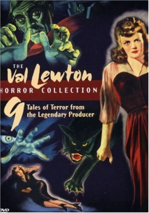 Nine films from director Val Lewton including Cat People, The Curse of the Cat People, I Walked with a Zombie, Body Snatcher, Isle of the Dead, Bedlam, The Leopard Man, The Ghost Ship, and the Seventh Victim.