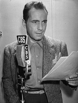 Humphrey Bogart publicity photo, 1945.