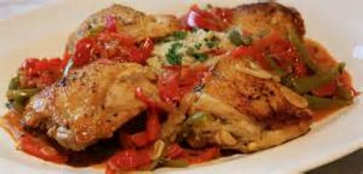Chicken Cacciatori