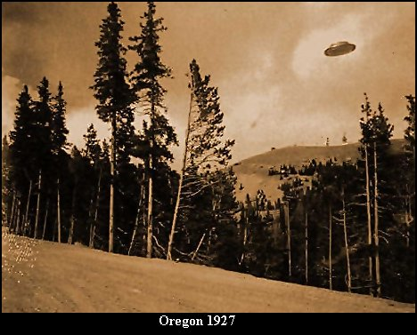 The Wright Brothers had only just invented the airplane a couple of decades earlier when this photo was taken by a firefighter in Oregon.