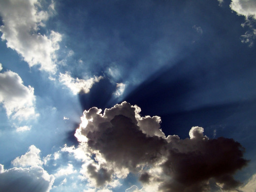 A silver lining began to appear behind the clouds...