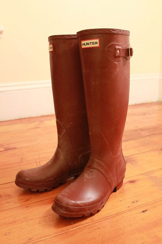 Red Hunter Wellington Boots
