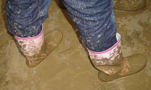 Mud, glorious mud.