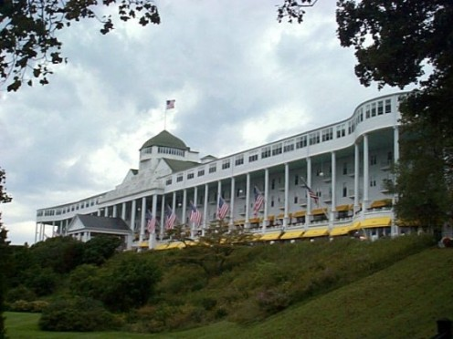 Grand Hotel on Mackinac Island, http://commons.wikimedia.org/wiki/File:GrandHotel.jpg