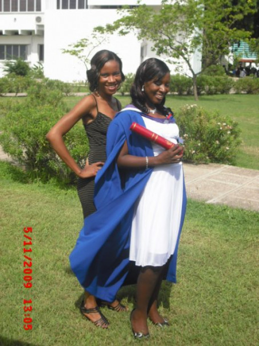 My sister's graduation: University of the West Indies, Mona
