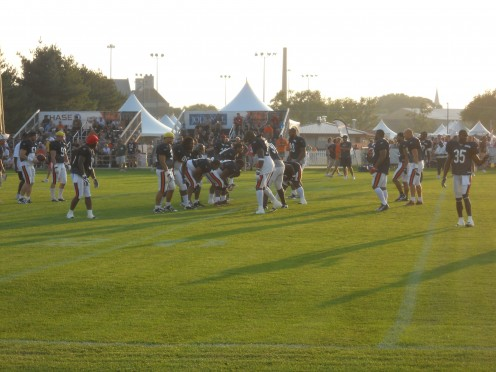 The Chicago Bear's Practice Field