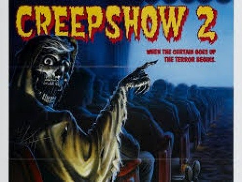 Creepshow 2 is a collection of three short horror stories written by Stephen King. It is told by a demonic looking old man who narrates the stories.