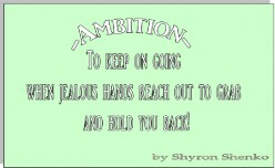 Ambition – What is Ambition? 32nd Good Word of the Good Word Project