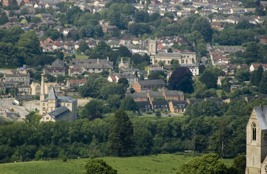 Stroud with its quaint cobbled streets, old buildings and modern small retail outlets