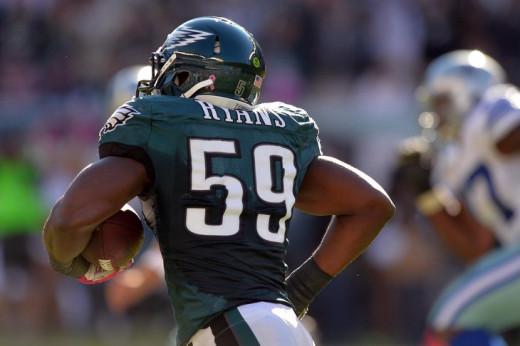 Philadelphia Eagles LB DeMeco Ryans