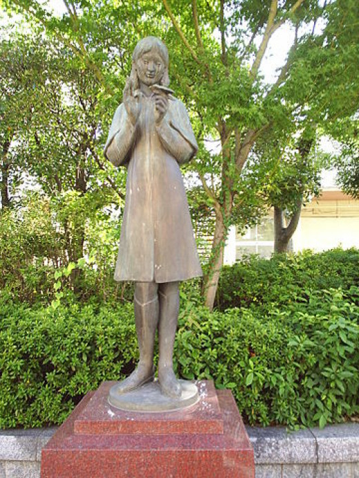 Sadako Sasaki in Hiroshima Prefecture, Japan by Dunican