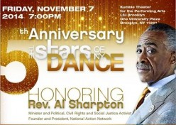The Stars of New York Dance 5th Anniversary Honors Rev. Al Sharpton