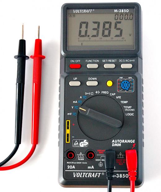 A programmable Digital Multimeter