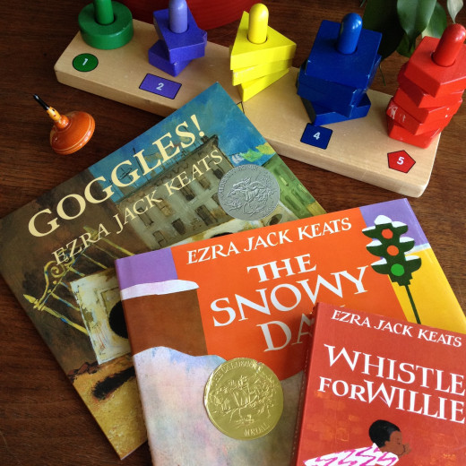 Goggles, The Snowy Day and Whistle for Willie--Some of our favorite Ezra Jack Keats picture books