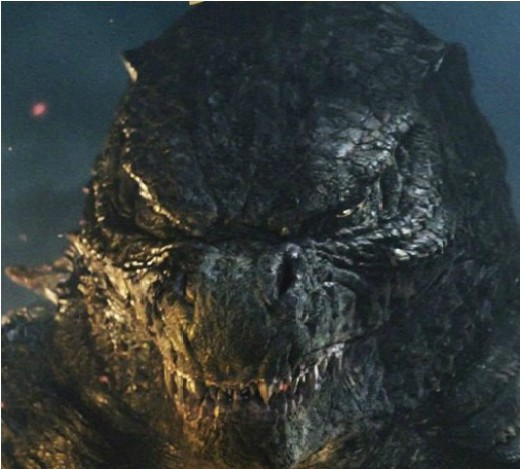 "Here it comes, ladies and gentlemen -- The Almighty ""Godzilla""."