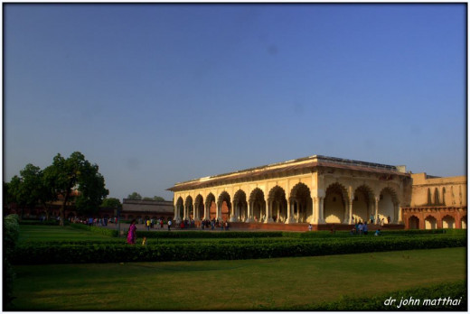 Agra Fort - Diwane Khas