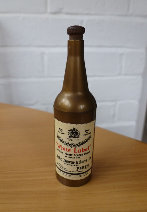 Gravity Operated White Label Scotch Bottle Opener