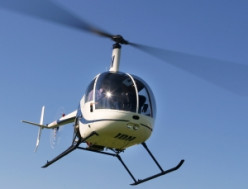 Choosing a career as a helicopter pilot