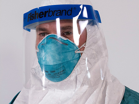Protective Shield For Healthcare Personnel Dealing In Ebola Virus Disease
