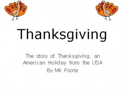 Teach English with Stories: Thanksgiving