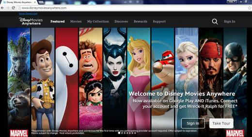 Disney's Digital Library or Bank.