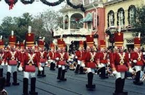 Take your spouse and children out to a parade for Christmas and watch how it puts a smile on everyone's face.