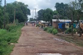 Road running through community of Jui