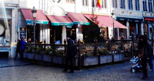 Restaurant on Grand Place Square