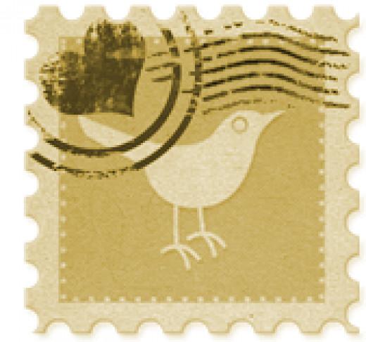 Twitter stamp