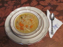 Mom's Homemade Chicken Soup