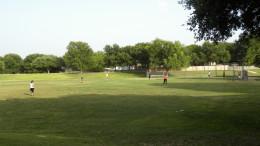 Multi- Use soccer and baseball field for Katherine Fleischer Park Wells Branch Austin Texas