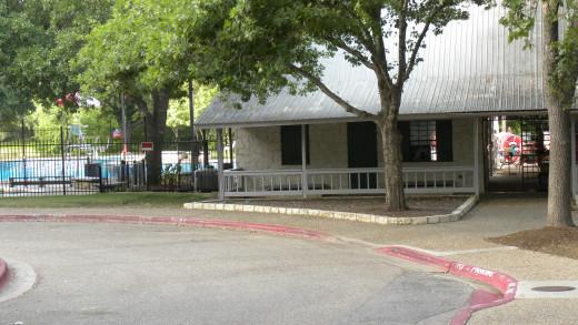 Entrance to Katherine Fleischer Park Wells Branch Austin Texas