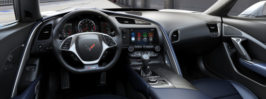 2015 Chevy Corvette Z06 Blue Interior