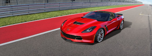 2015 Chevy Corvette Convertible Red