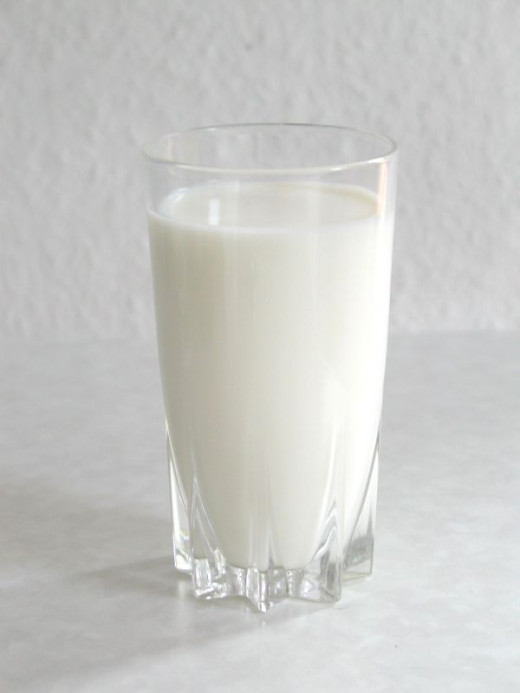 Milk has a lot of protein and is considered a perfect food.